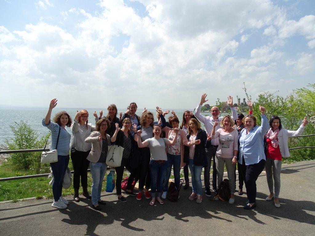 19 Teilnehmerinnen absolvierten erfolgreich das Coaching zur Top-Kommunikatorin.